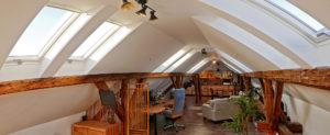 Tetőtéri ablakok beépítése a Photobalance fotostúdióba