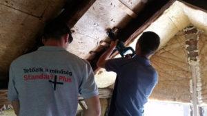 Tetőablak beépítése zsindely fedésű tetőbe