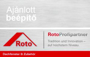 Roto ajánlott tetőablak beépítő