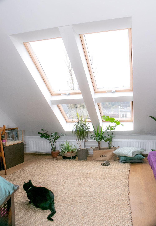 Tetőtéri ablak beszerelés budán