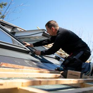 Tetőablak csere tetőtéri ablak beépítés