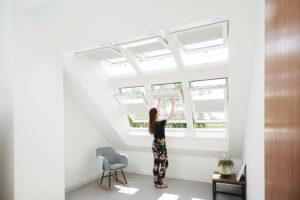 Tetőtéri ablak áryékolás
