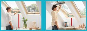 Alul vagy felül legyen a tetőablak kilincse?