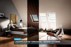 Tetőablak csere, otthonteremtési támogatással